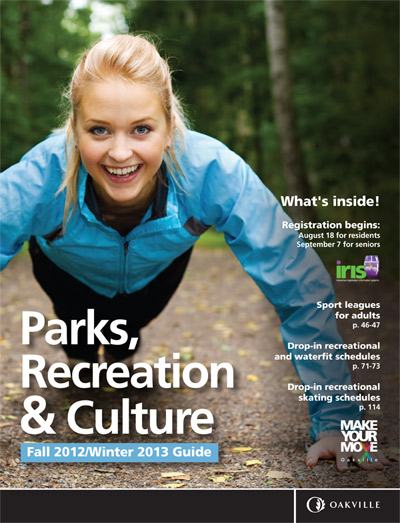Oakville Parks and Recreation Guide 2012 2013