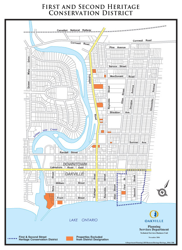First-and-Second-Street-Oakville-Heritage-Properties-Map